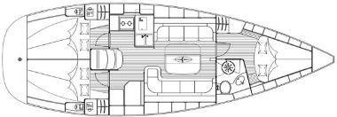 Segelyacht Bavaria 37 Cruiser in Bjorlanda ausleihen-31316-0