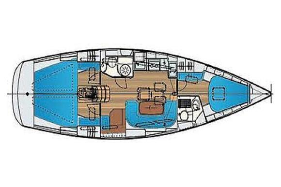 Segelyacht Bavaria 40 Cruiser Yachtcharter in Marina Lefkas-30169-0