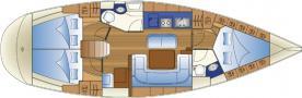 Yacht Bavaria 41 in Puntone leihen-29283-0