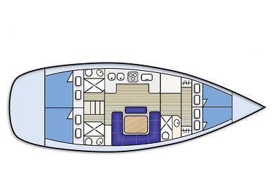 Yacht Bavaria 45 Cruiser chartern in Airlie Beach-32001-0