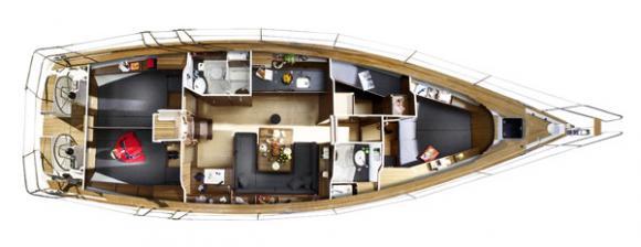 Segelboot Bavaria 47 leihen in Marina Dalmacija-30800-0
