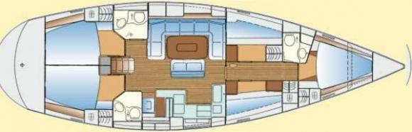Segelboot Bavaria 50 Yachtcharter in Zadar-31210-0