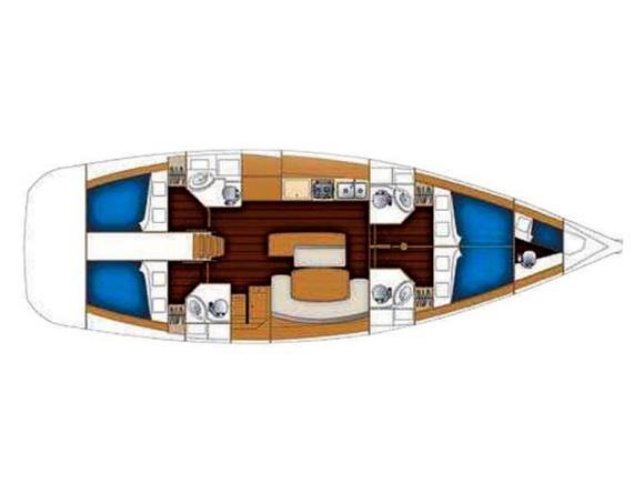 Segelyacht Cyclades 50.4 chartern in Furnari-28323-0