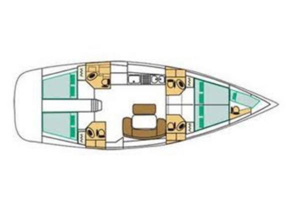 Segelyacht Cyclades 50.4 chartern in Furnari-28980-0