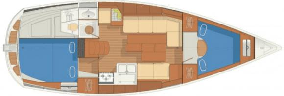 Segelyacht Delphia 33 in Marina Bjoerlanda Kile chartern-29903-0