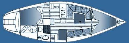 Segelyacht Dromor 32 in Athens chartern-30653-0