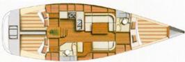 Yacht Dufour 40 in Castiglione della Pescaia leihen-28341-0