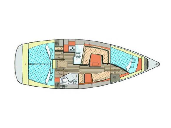 Segelboot Elan 384 Impression Yachtcharter in Marina Kröslin-31277-0