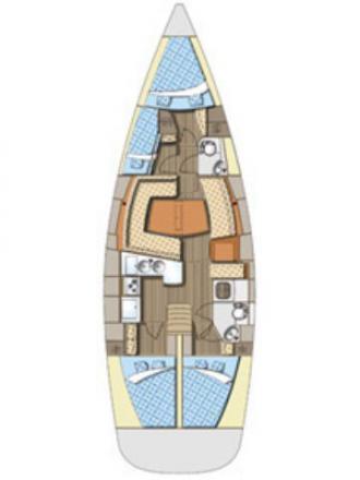 Elan 434 Impression Segelyacht Charter Zadar-71349-0