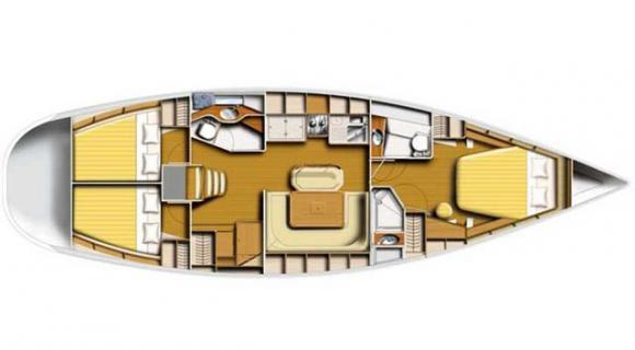 Segelyacht Harmony 47.3 chartern in Marina Mandalina-29646-0