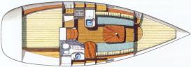 Yacht Oceanis 311 in Marina Dalmacija leihen-29217-0