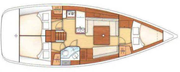 Segelyacht Oceanis 37 in Bodrum leihen-35134-0
