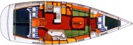 Yacht Oceanis 373 in Marina Di Sant Elmo Sardinia chartern-29177-0