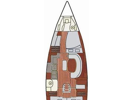 Segelyacht Oceanis 411 in Krk ausleihen-71675-0