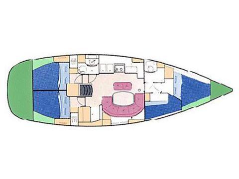 Segelyacht Oceanis 411 Clipper Yachtcharter in Marina La Lonja-30632-0