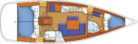 Segelyacht Oceanis 43 in Can Pastilla chartern-31251-0