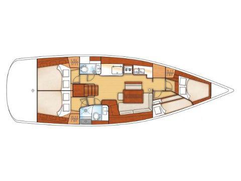 Yacht Oceanis 46 Yachtcharter in Puntone-28778-0