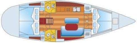 Segelyacht Oceanis 461 Clipper in Gouvia Marina chartern-71330-0-0