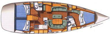 Yacht Oceanis 473 in Marina Lindholmen mieten-31302-0