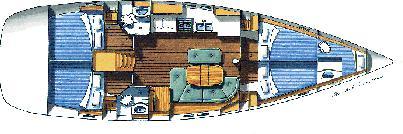 Segelyacht Oceanis 473 in Athens mieten-31248-0