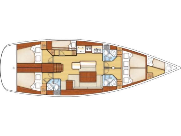 Segelyacht Oceanis 50 Family chartern in Marina Mandalina-30859-0