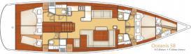 Segelboot Oceanis 58 in Marina di Portorosa mieten-29116-0