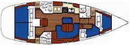 Segelboot Oceanis Clipper 423 in Procida Marina leihen-31575-0