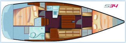Yacht Salona 34 Performance in Split mieten-71177-0
