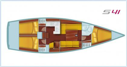 Yacht Salona 41 Performance in ACI Marina Split leihen-71179-0