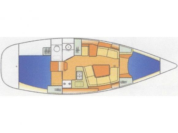 Segelyacht Sun Odyssey 35 in Bodrum Marina Milta leihen-35145-0