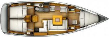 Segelboot Sun Odyssey 409 in Hyeres Harbour ausleihen-30484-0