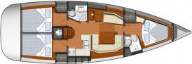 Segelyacht Sun Odyssey 42i in Cannigione chartern-29421-0
