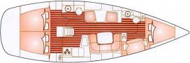 Segelboot Sun Odyssey 43 in Marmaris mieten-28475-0