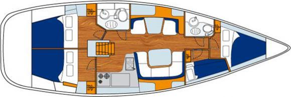 Segelboot Sun Odyssey 43DS in Bodrum chartern-31167-0