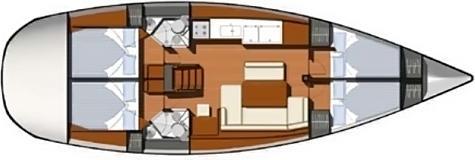 Segelyacht Sun Odyssey 44i in Marina Lazaretta mieten-71188-0