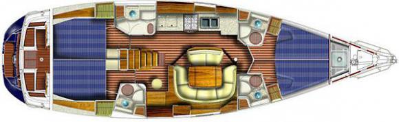 Yacht Sun Odyssey 49 in Murter mieten-30514-0