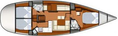 Yacht Sun Odyssey 50DS in Alimos Marina Kalamaki leihen-28498-0