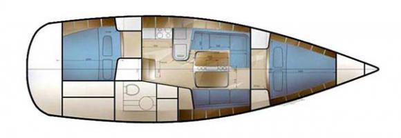 Segelyacht Sunbeam 36.1 Yachtcharter in Pula-29659-0