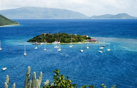 Sailing British-Virgin-Island